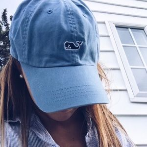 vineyard vines blue whale baseball hat